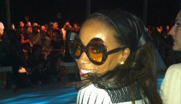 NYFW Spottings: Rosario Dawson, Skylar Diggins, June Ambrose, Shay Mitchell & Rob Riley