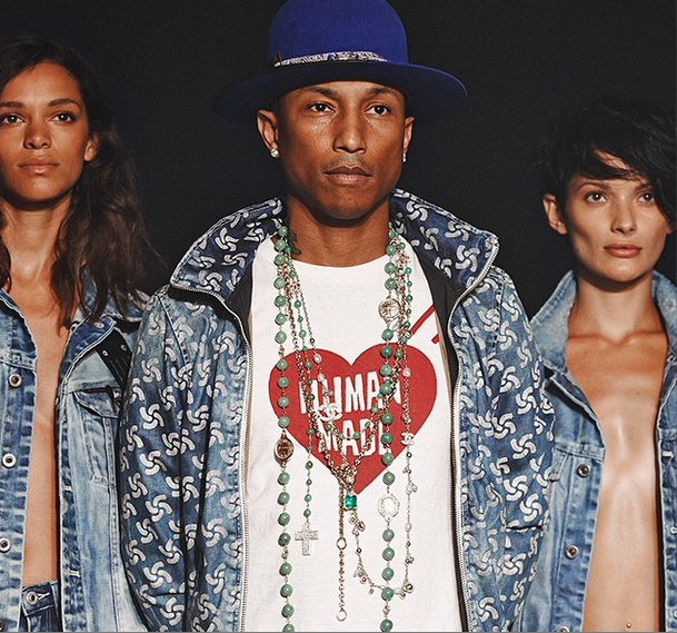 [Photos] Pharrell Presents 'RAW for the Oceans' At New York Fashion Week