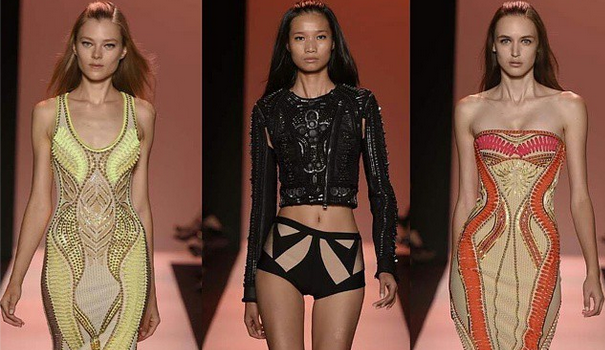 [Photos] Hervé Léger Presents At New York Fashion Week
