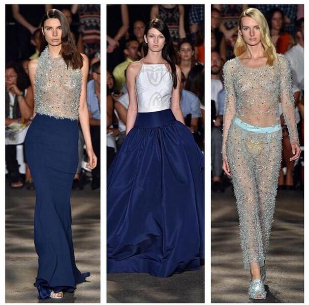 [Photos] Christian Siriano Presents At New York Fashion Week + Jada Pinkett Smith, Uzo Aduba Attend