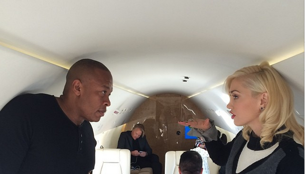 [Photos] Apple iPhone 6 Launch Brings Out Dr. Dre, Diddy, Kendrick Lamar & Gwen Stefani