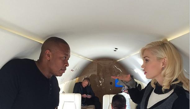 [Photos] Apple iPhone 6 Launch Brings Out Dr. Dre, Diddy, Kendrick Lamar & Gwen Stefani