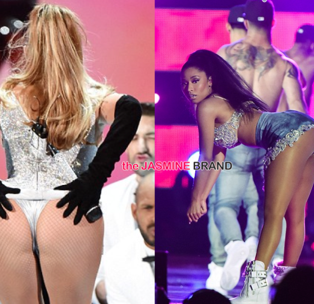 [WATCH] J.Lo & Nicki Minaj Bring 'Booty' & 'Anaconda' to Fashion Rocks