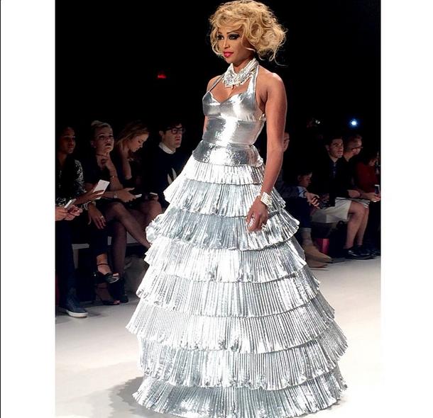 Betsey Johnson Presents at New York Fashion Week + Cynthia Bailey Werks the Runway