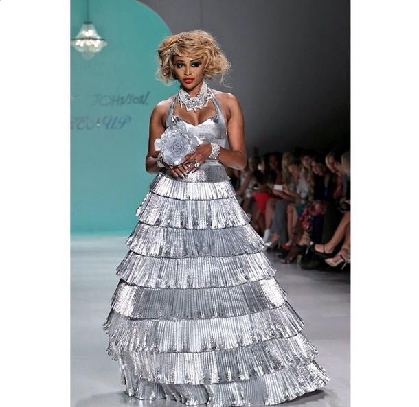 Betsey Johnson Presents at New York Fashion Week + Cynthia Bailey ...