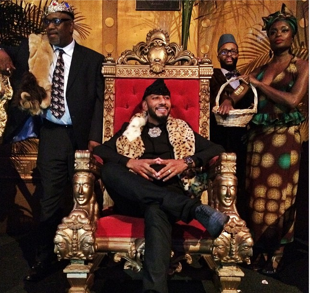 Alicia Keys Throws Swizz Beatz 'Coming to America' Birthday Party