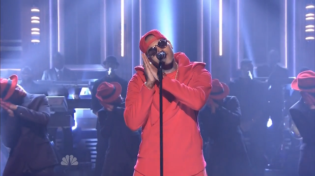 [WATCH] Chris Brown Performs On 'The Tonight Show'