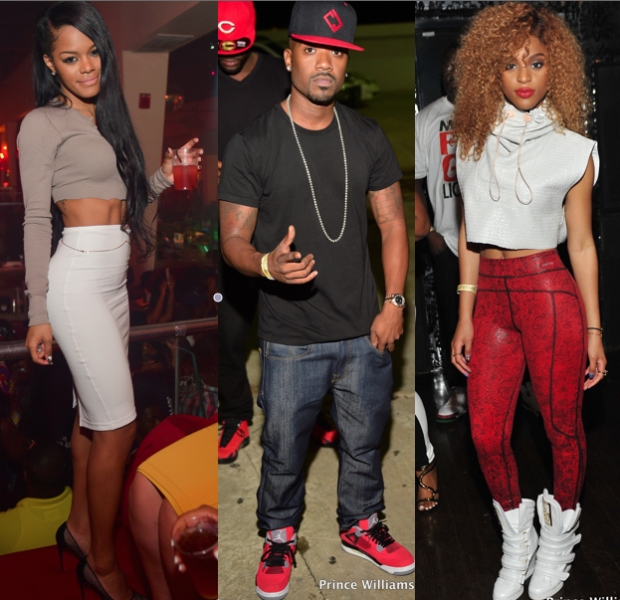 Celebs Party in the A: Usher, Future, Rick Ross, Teyana Taylor, Young Jeezy