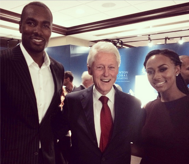 Kerry Washington Steps Out With Hubby, Keri Hilson & Boyfriend Serge Ibaka Meet Clintons, 50 Cent Shows Off Adorable Son + LeBron James, Kim Kardashian, Keyshia Cole & Madonna
