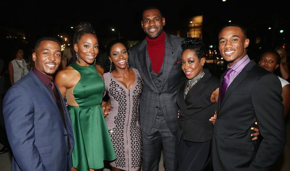 [Photos] LeBron James' 'Survivors Remorse' Premieres in Beverly Hills