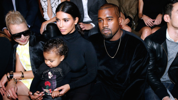 Famous Parents Perks: Baby North West Sits Front Row At Balenciaga Show