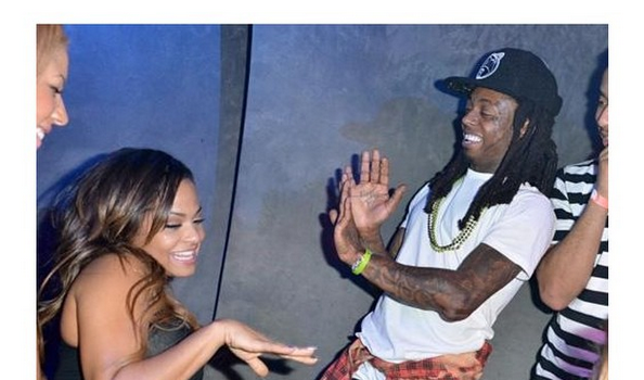 [Photos] Lil Wayne Celebrates Birthday With Girlfriend Christina Milian & Friends