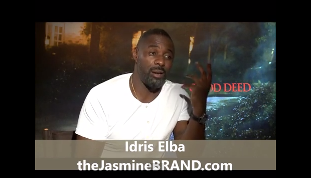 [INTERVIEW] Idris Elba On Fighting Taraji P. Henson In 'No Good Deeds' + Why He Refuses to Read His Own Press