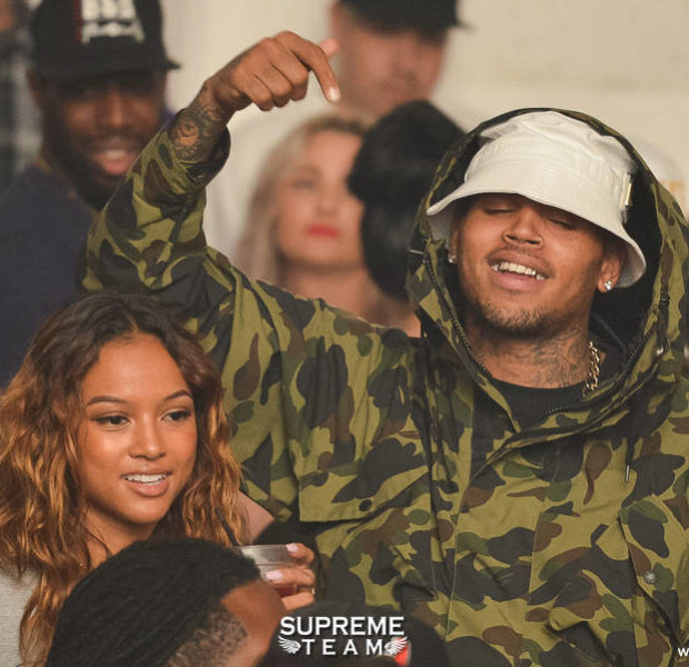 Keyshia Cole, Chris Brown, Trey Songz Spotted Partying in Hollywood