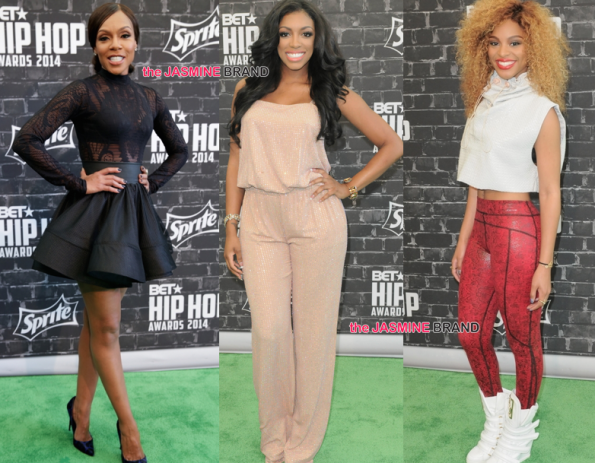 Wendy Raquel-Porsha Williams-Brianna Perry-BET Hip Hop Awards 2014-the jasmine brand.jpg
