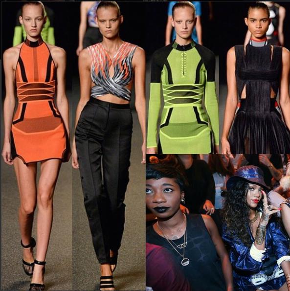 [Photos] Alexander Wang Presents At New York Fashion Week + Rihanna, Miguel, Nicki Minaj Sit Front Row