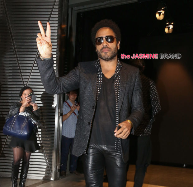 Lenny Kravitz Travels By Boat to Aid Hurricane Victims [Photos]
