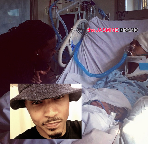August Alsina Shares Graphic Photo, After Awaking From 3 Day Coma