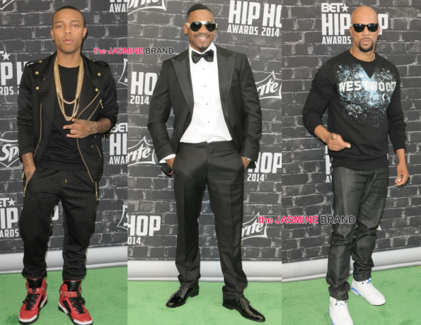 bow wow shad moss-stevie j-common-bet hip hop awards 2014-the jasmine brand.jpg