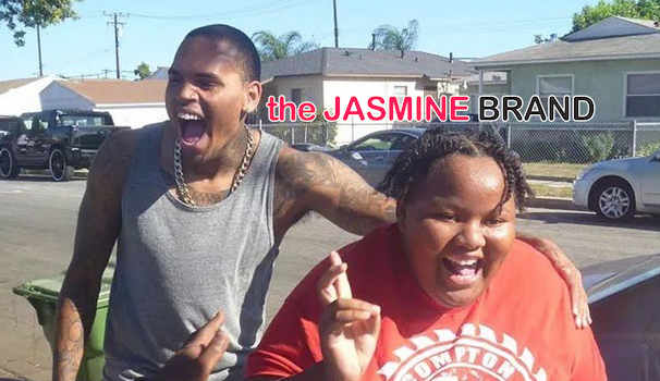 [Photos] Chris Brown Shoots Video, Meets Biggest Fan in Compton