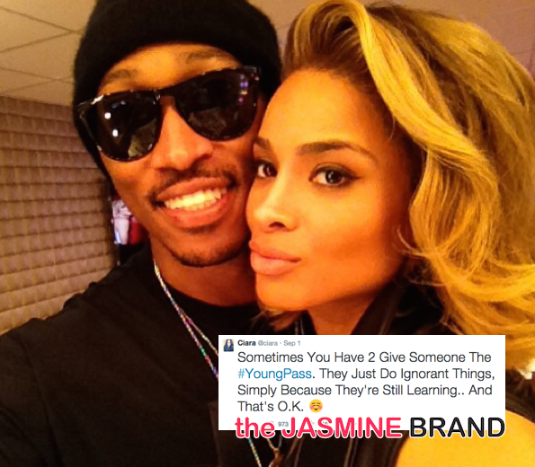 ciara and future reconcile for son-the jasmine brand