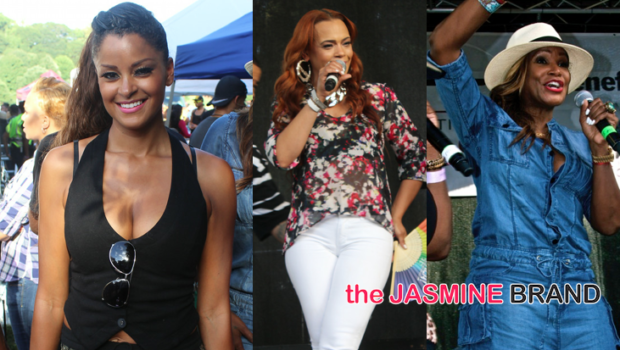 [Photos] Faith Evans, Tameka Raymond, Claudia Jordan & China Upshaw Attend ATL Black Gay Pride Pure Heat Community Festival