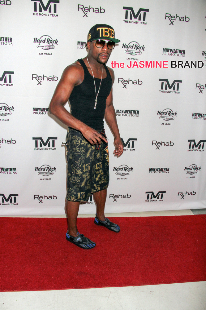 "2014 Boxing - Showtime's ""Mayhem: Mayweather vs. Maidana 2"" - Official After Pool Party with Floyd Mayweather Jr. - Arrivals"