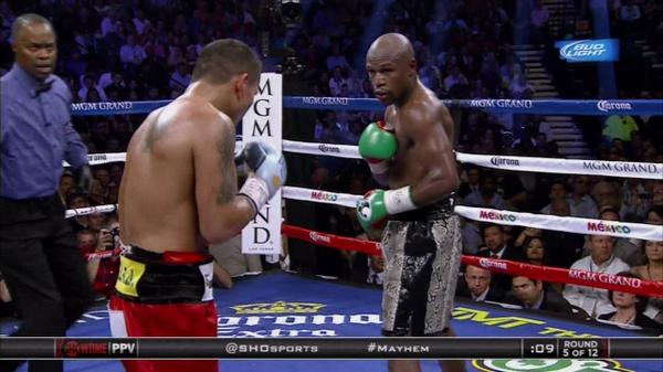 Mayweather Beats Maidana + Kevin Hart, Will Smith, Mike Tyson, Rick Ross & More Attend Fight