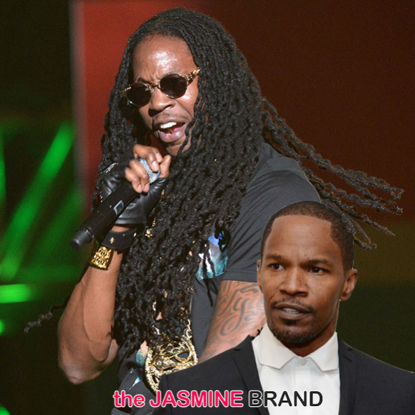 jamie foxx-2 chainz-music stealing lawsuit dismissed-the jasmine brand