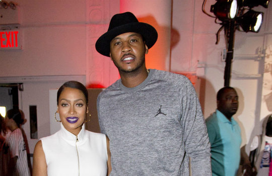 Carmelo Anthony Accused of Cheating On Lala, Impregnating Stripper