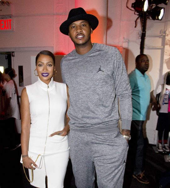 Lala & Carmelo Anthony Have Reconciled