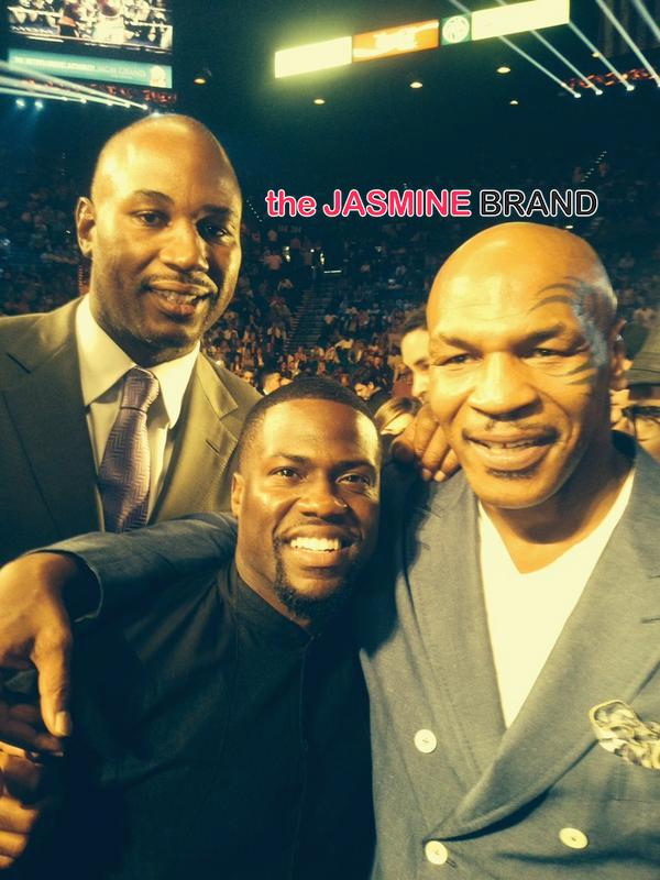 lennox lewis-mike tyson-kevin hart-mayweather fight 2014-the jasmine brand