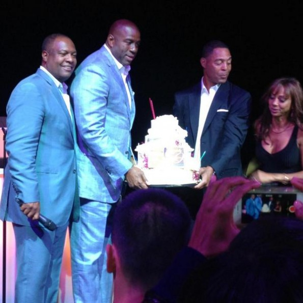 magic johnson-holly robinson peete 50th birthday party-the jasmine brand