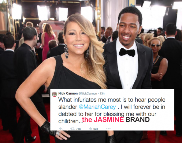 nick cannon tweets about split with mariah carey-the jasmine brand