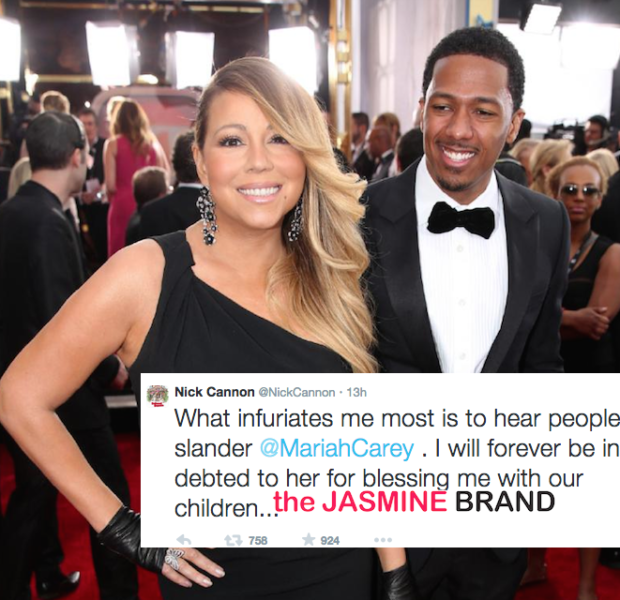 Nick Cannon Tweets About Mariah Carey Split: I Will Always Love Her!