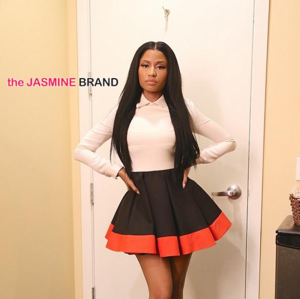 nicki minaj-ellen show-valentino-the jasmine brand