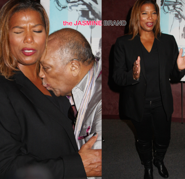 Spotted. Stalked. Scene. Queen Latifah, Quincy Jones, Rashida Jones Attend 'Keep On Keepin' On' Premiere
