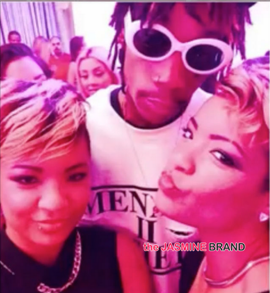 radio personality-claims wiz khalifa cheated on amber rose with fashion twins-the jasmine brand