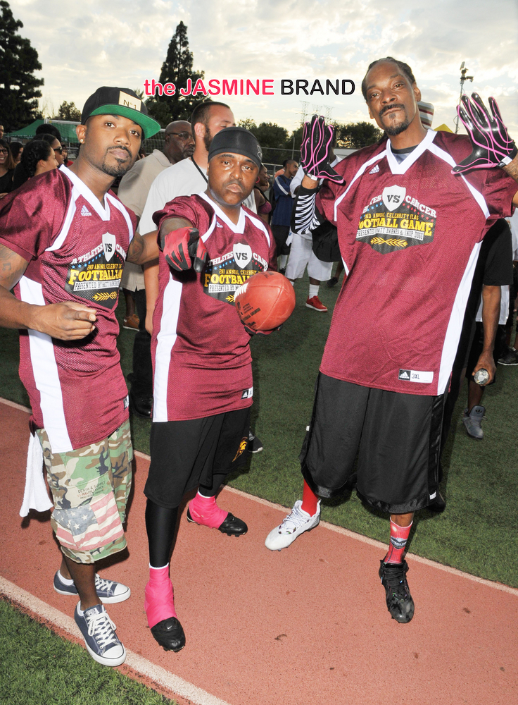 2nd Annual Athletes vs. Cancer Celebrity Flag Football Game at Granada Hills Charter High School in Granada Hills on September 7, 2014