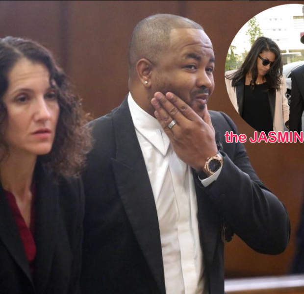 The Dream Reports To Court Over Assault Case Against Baby Mama