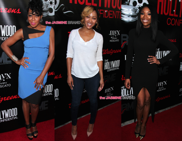 Meagan Good, Brandy & Tichina Arnold Attend The Hollywood Confidential