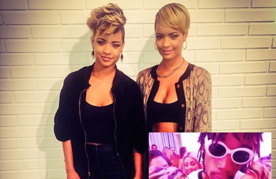 [VIDEO] Radio Personality Says Wiz Khalifa Cheated On Amber Rose With Fashion Twins: She Caught Them In Bed!
