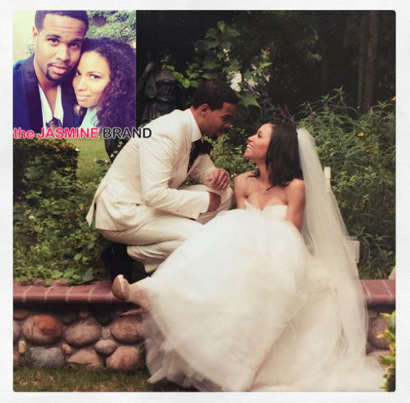 Actress Jurnee Diana Smollett Bell-Husband Celebrate 4 Year Wedding Anniversary-the jasmine brand