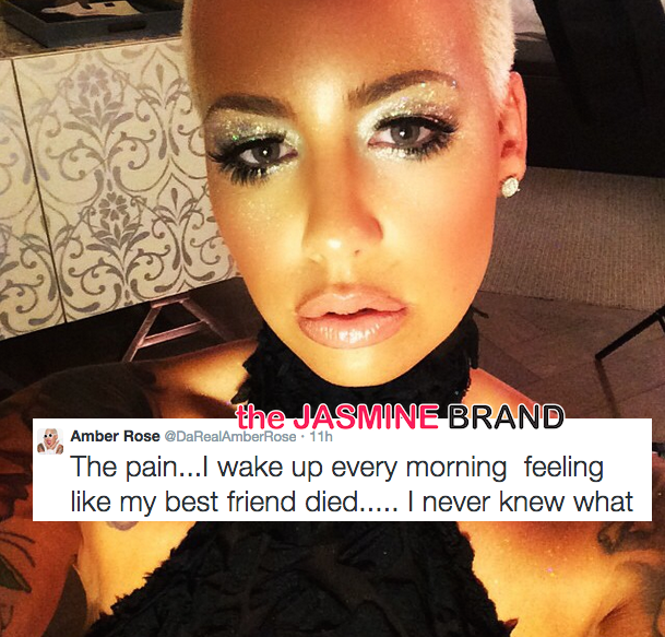 Heartbreak Hotel: Amber Rose Sadly Tweets About Wiz Khalifa