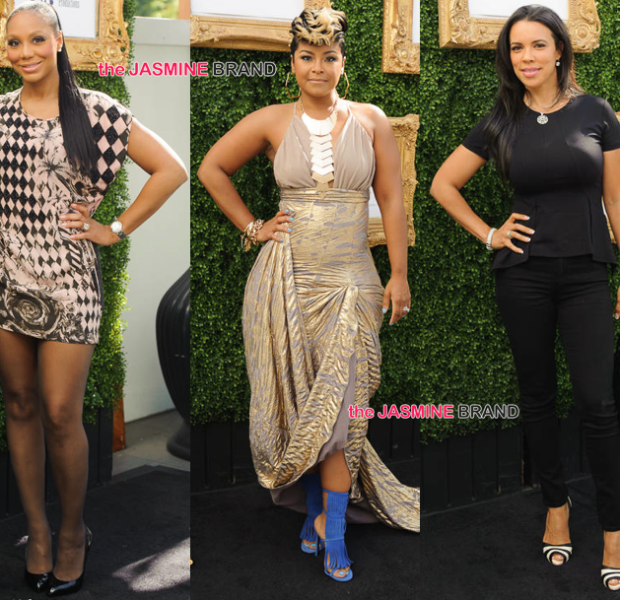 April Daniels Launches 'Rock Out With Me': Tamar Braxton, Sheree Fletcher, Shamicka Lawrence Attend [Photos]