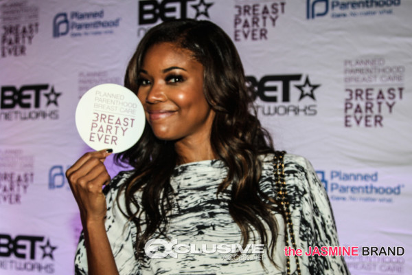 [Photos] Gabrielle Union Hosts 'Breast Party Every' Tour