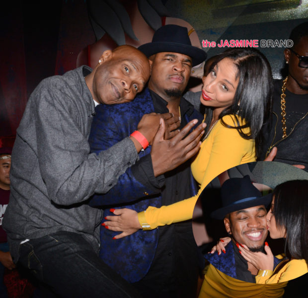 NeYo Hits Hollywood After Party With Girlfriend + LL Cool J, Big Boy Attend
