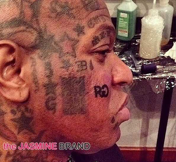 Birdman Rich Gang tattoo-the jasmine brand