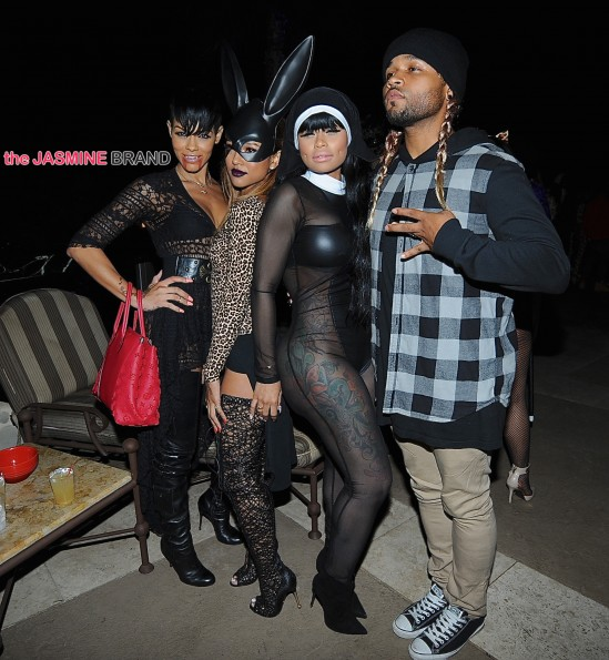 Blac Chyna attends Amber Rose surprise costume themed birthday celebration