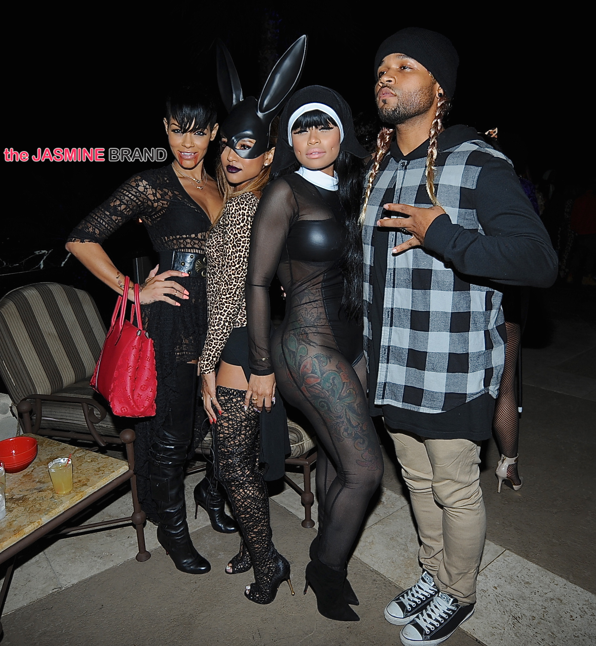 Amber Rose Throws Halloween Themed Birthday Bash: Chris Brown ...